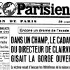 Mort suspecte du directeur de Clairvaux lors du repli de la maison centrale, en juin 1940