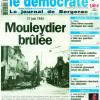 «Le Démocrate indépendant» de Bergerac revient sur la tragédie de Mouleydier