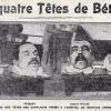 Naissance de la censure cinématographique avec la quadruple exécution de Béthune