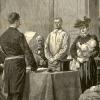 Les noces de Jean Bricou, anarchiste, à la prison de la Santé en juillet 1893