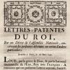 Le décret du 16 mars 1790 abolissant les lettres de cachet