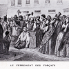 Le ferrement des forçats au départ de la prison de Bicêtre