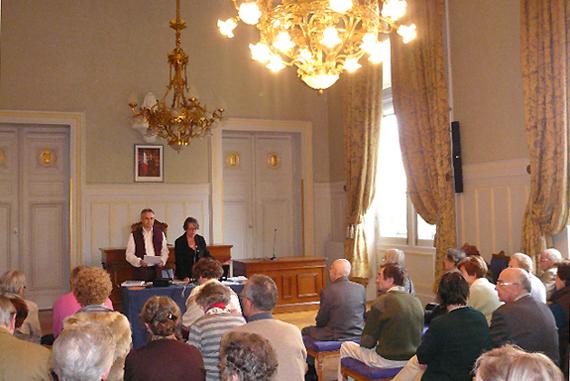Conférence organisée par la Société Historique du VIe, Mairie du VIe, le 15 avril 2010.