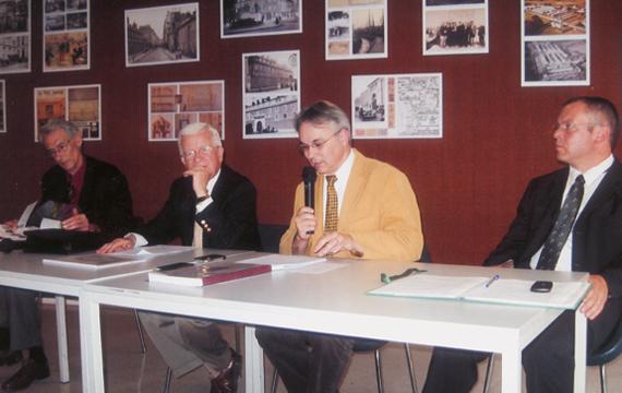 Conférence du 12 juin 2009 sur la prison militaire de Paris présentée à la FMSH à Paris.