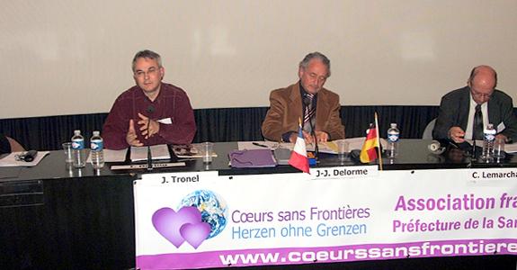 Conférence sur les femmes tondues en Dorodgne, Mémorial de Caen, 22 novembre 2008.