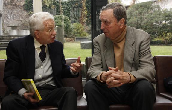 Michel Lemoine et Jean Barin, MSH, Paris, novembre 2008