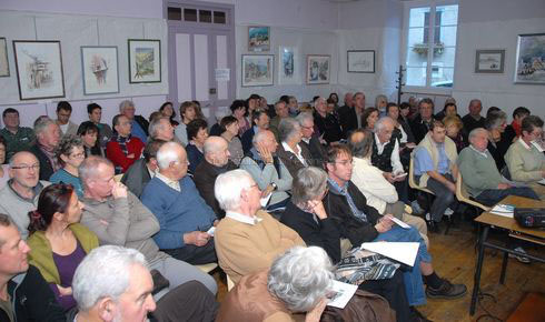 Rencontres historiques du Fort du Portalet, Urdos, 13 novembre 2010.