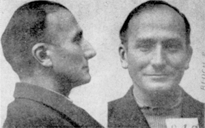 Photo anthropométrique du député Pierre Bloch, détenu à la prison Beleyme de Périgueux.