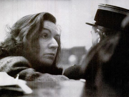 La belle Magda Fontanges devant ses juges, en janvier 1947.