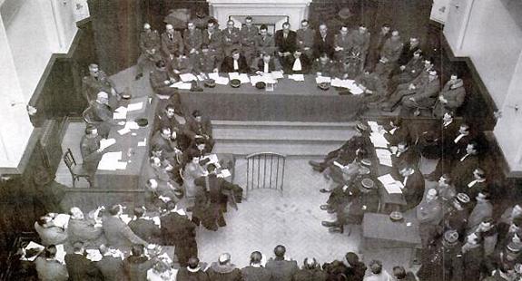 Tribunal militaire de Bordeaux, janvier 1947, affaire Magda Fontanges.