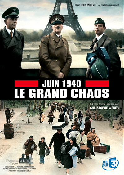 """Juin 1940, le grand chaos"" film documentaire de Christophe Weber."