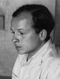 """Portrait de Karl Schwesig, peintre allemand """"dégénéré""""."""