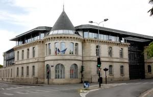 Ancienne gare de Segur, puis caserne Boudet, rue de Pessac à Bordeaux.