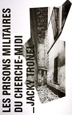 """Musée Carnavalet, exposition """"L'impossible photographie"""", page d'into au texte de Jacky Tronel sur les prisons militaires de la rue du Cherche-Midi"""