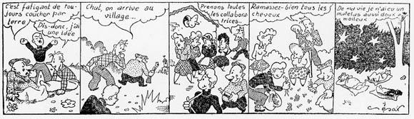 Bande dessinées sur le thème des femmes tondues. Jacky Tronel