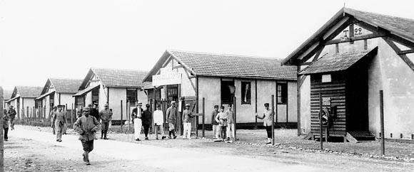 Cantonnement des ouvriers de la Poudrerie de Bergerac.