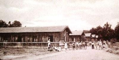 Le centre d'hébergement de Masseube, (Gers).