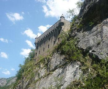 Fort du Portalet en vallée d'Aspe, commune d'Urdos.