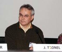 """Jacky Tronel, Mémorial de Caen, 20 novembre 2010, """"Les triangles marrons"""""""