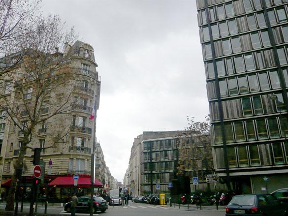 Maison des Sciences de l'Homme et rue du Cherche-Midi