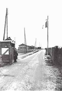 Entrée du camp de Mérignac Beau-Désert.