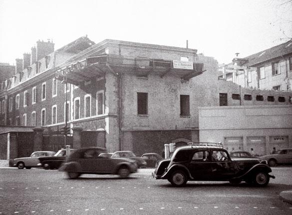 Démolition de la prison du Cherche-Midi en 1961.