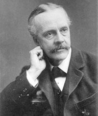 Lord Arthur Balfour, premier ministre du Royaume uni.