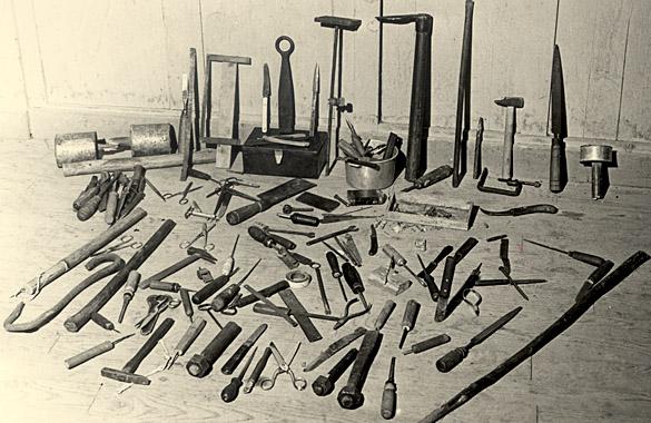 Résultat de la fouille du 4 janvier 1953 au centre pénitentiaire de Mauzac (Dordogne)