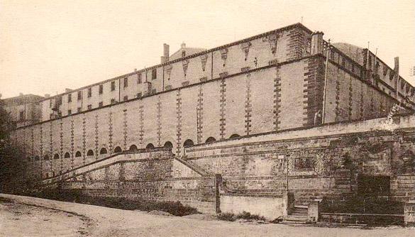 Maison centrale de Riom (Puy-de-Dôme), coll. Jacky Tronel.