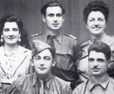 Tamara Volkonskaïa avec François Coy à ses côtés et Roger Ranoux au premier-plan.
