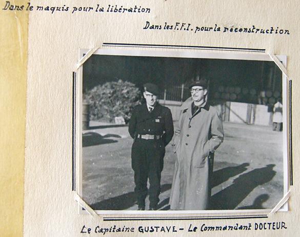 Usine de carburants, 18e Région militaire, Capitaine Gustave et Commandant Docteur