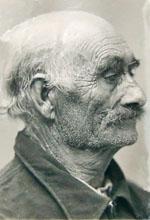 Portrait de Tsigane. Coll. Archives départementales de la Dordogne.