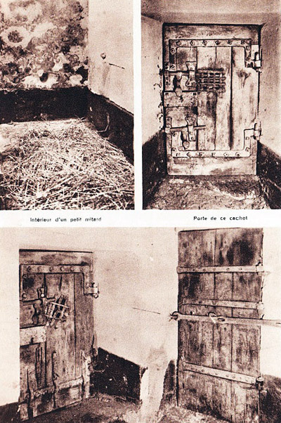 Les cachots de la Mal Coiffée, prison allemande à Moulins sur Allier
