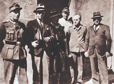 Encadrement de la prison allemande de Moulins, la Mal Coiffée.