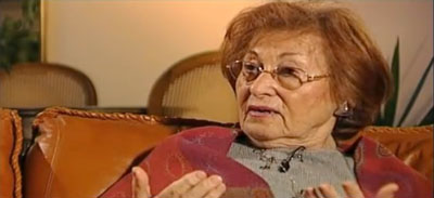 """Frania Eisenbach Haverland, auteur de """"Tant que je vivrai"""", Editions Edite, vidéo 2008."""