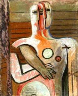 "Anton Räderscheidt, ""Les survivants"", 1943"