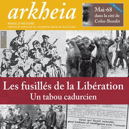 Fac-similé de couverture de la revue d'Histoire Arkheia n° 23-24, 2011.