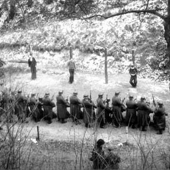 Fusillés au Mont-Valérien, le 21 février 1944.