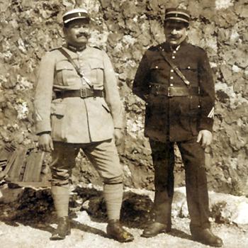 Surveillants de prison militaire, le 28 février 1928.