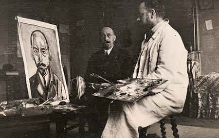Michael Stein peint par Henri Matisse, Paris, 1916.