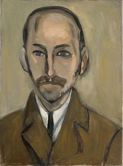 Portrait de Michael Stein peint par Matisse en 1916.