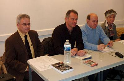 Jacky Tronel, Jean-Pierre Koscielniak et Philippe Souleau (Photo Jean-Claude Faure, journal Sud-Ouest)