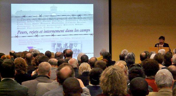 Conférence du CETJAD à Poitiers, en janvier 2012.