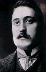 Photo portrait du poète Guillaume Apollinaire