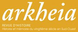 Logo de la revue d'histoire régionale Arkheia.