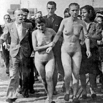 Les tondues de Bordeaux, 29 août 1944.
