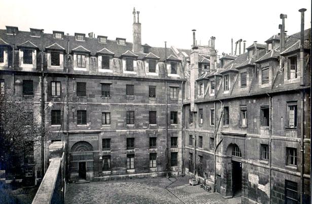 Prison Saint-Lazare, prison de femmes.