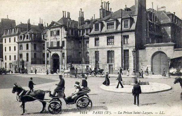 Prison Saint-Lazare, n° 107 de la rue du Faubourg Saint-Denis, Paris 10e arrondissement
