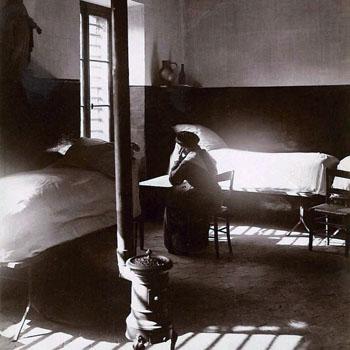 Prison Saint-Lazare, chambre de la pistole. Fin du 19e siècle.