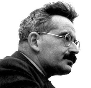 Walter Benjamin, philosophe allemand (1892-19430).
